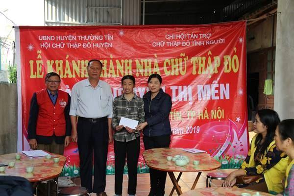 Huyện Thường Tín tổ chức Lễ khánh thành nhà Chữ Thập đỏ