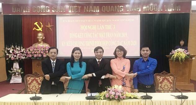 Hội nghị lần thứ 3 Uỷ ban MTTQ Việt Nam quận Nam Từ Liêm  nhiệm kỳ 2019-2024