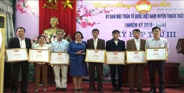 Ủy ban MTTQ huyện Thạch Thất tổ chức Kỳ họp thứ 3, nhiệm kỳ 2019-2024