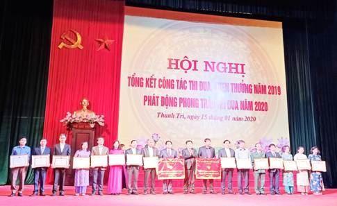 Huyện Thanh Trì tổng kết công tác thi đua, khen thưởng năm 2019 và phát động phong trào thi đua năm 2020