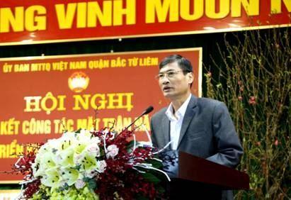 Ủy ban MTTQ quận Việt Nam Bắc Từ Liêm triển khai nhiệm vụ và phát động thi đua năm 2020.