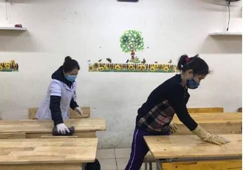 Quận Bắc Từ Liêm tổng vệ sinh môi trường các trường học trên địa bàn để phòng chống bệnh do 2019- nCoV