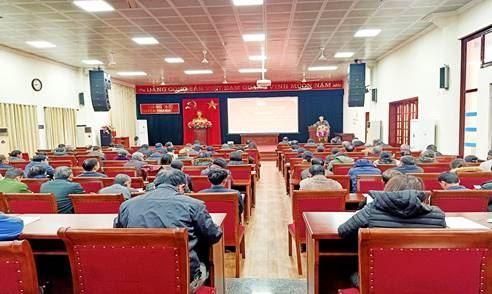 Huyện Thanh Trì tuyên truyền phòng chống dịch bệnh viêm đường hô hấp cấp do virút Corona gây ra