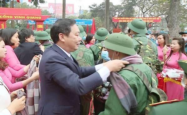 Quận Hà Đông tưng bừng Lễ giao nhận quân năm 2020