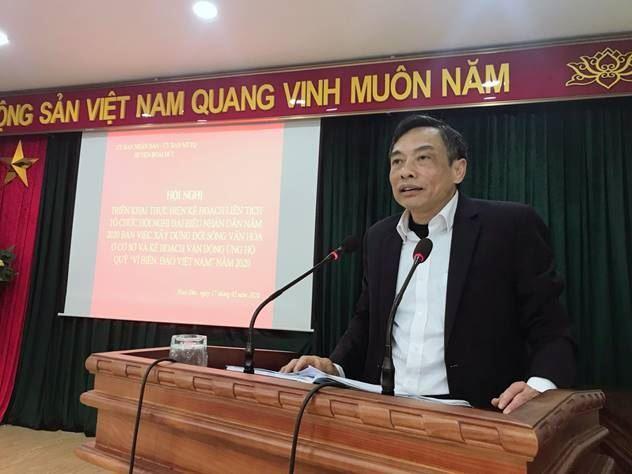 """Hoài Đức triển khai tổ chức hội nghị đại biểu nhân dân và vận động quỹ """"Vì biển, đảo Việt Nam"""" năm 2020"""