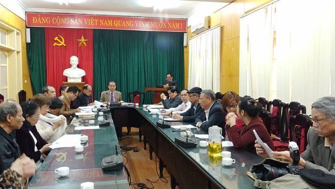 Ban đoàn kết Công giáo quận Thanh Xuân triển khai nhiệm vụ và ký giao ước thi đua năm 2020.