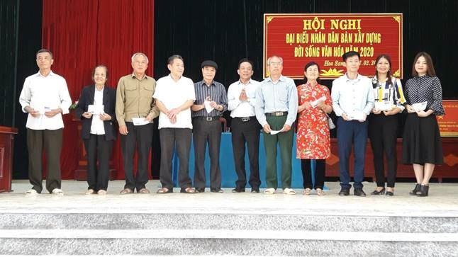 Hội nghị đại biểu Nhân dân xã Hoa Sơn, huyện Ứng Hòa năm 2020
