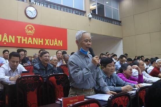 Quận Thanh Xuân tổ chức đối thoại trực tiếp giữa người đứng đầu cấp ủy, chính quyển với MTTQ và các đoàn thể Chính trị - xã hội và nhân dân