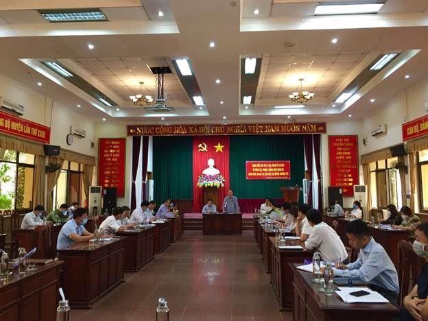 Phó Chủ tịch Thường trực UBND Thành phố kiểm tra công tác phòng, chống dịch bệnh Covid-19 tại huyện Thường Tín