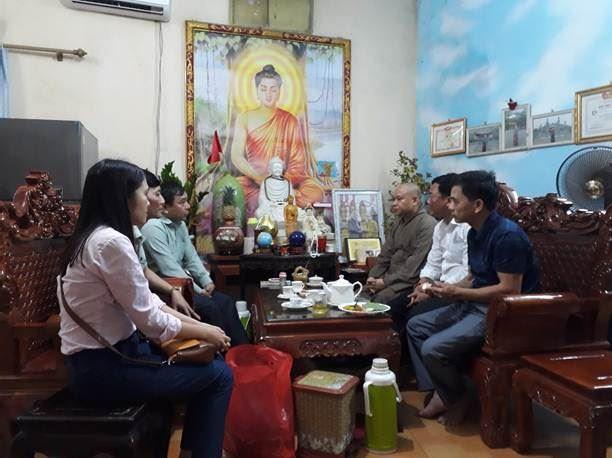 Ủy ban MTTQ Việt Nam huyện Thanh Oai tăng cường công tác giám sát, tuyên truyền phòng chống dịch Covid-19 tại các cơ sở tôn giáo