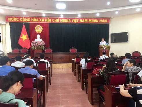 Sơn Tây triển khai lấy ý kiến về sự hài lòng của người dân đối với kết quả xây dựng nông thôn mới.