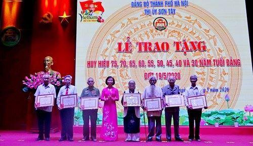 Sơn Tây tổ chức Lễ kỷ niệm 130 năm ngày sinh Chủ tịch Hồ Chí Minh