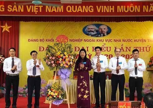 Đại hội các chi, đảng bộ trực thuộc Huyện ủy Thanh Trì nhiệm kỳ 2020 - 2025