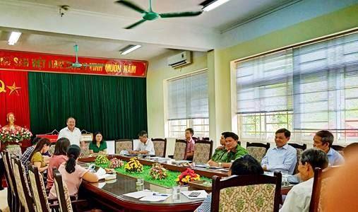 Huyện Thanh Trì giám sát việc thực hiện các chính sách hỗ trợ người dân gặp khó khăn do đại dịch Covid -19 theoNghị quyết 42/NQ-CP