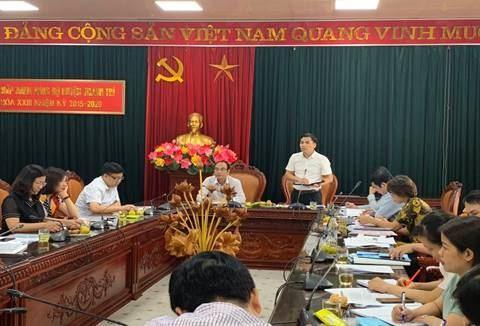 Đoàn Ủy ban MTTQ Việt Nam TP kiểm tra, giám sát thực hiện chính sách hỗ trợ người dân gặp khó khăn do đại dịch Covid-19 tại huyện Thanh Trì