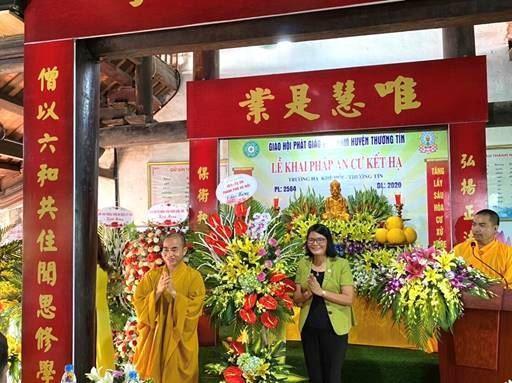Lễ Khai pháp khóa an cư Phật lịch 2564 - Dương lịch 2020