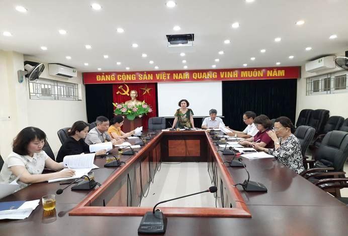 Ủy ban MTTQ Việt Nam quận Cầu Giấy triển khai Kế hoạch giám sát đợt 2 việc hỗ trợ cho các đối tượng khó khăn do đại dịch Covid-19