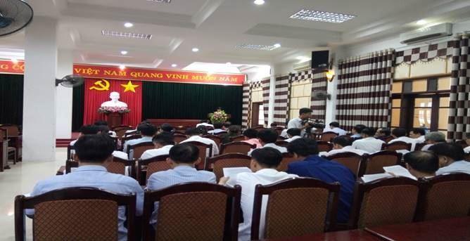 Ủy ban MTTQ Việt Nam huyện Phúc Thọ triển khai  lấy ý kiến hài lòng của người dân về huyện nông thôn mới