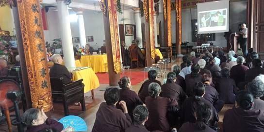 Ủy ban MTTQ Việt Nam quận Hoàng Mai tổ chức hội nghị tuyên truyền kiến thức Quốc phòng và An ninh