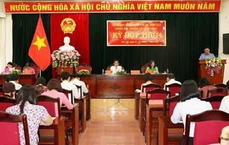 Ủy ban MTTQ thị xã Sơn Tây thông báo kết quả công tác Mặt trận tham gia xây dựng chính quyền 6 tháng đầu năm 2020