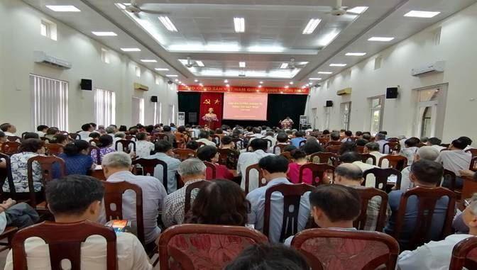 Ủy ban MTTQ Việt Nam quận Cầu Giấy khai mạc lớp tập huấn công tác Mặt trận năm 2020