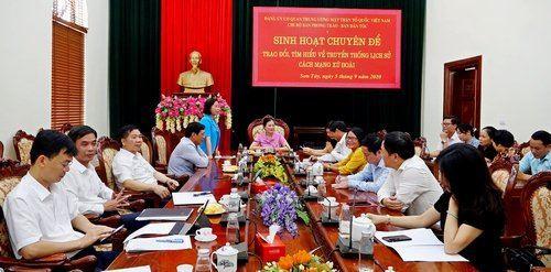 Ủy ban Trung ương MTTQ Việt Nam làm việc với thị xã Sơn Tây về công tác xây dựng nông thôn mới