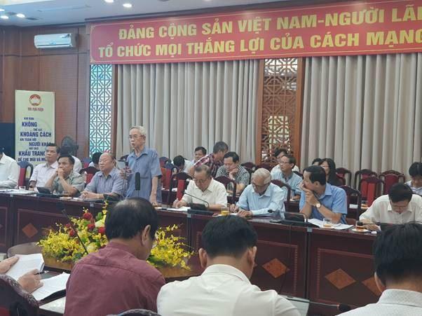 Ủy ban MTTQ Việt Nam thành phố Hà Nội tổ chức tọa đàm, góp ý, sửa đổi Luật MTTQ Việt Nam.