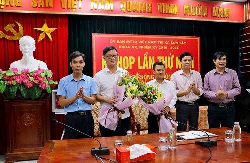 Hiệp thương cử Chủ tịch Ủy ban MTTQ Việt Nam thị xã Sơn Tây khóa XX, nhiệm kỳ 2019-2024.