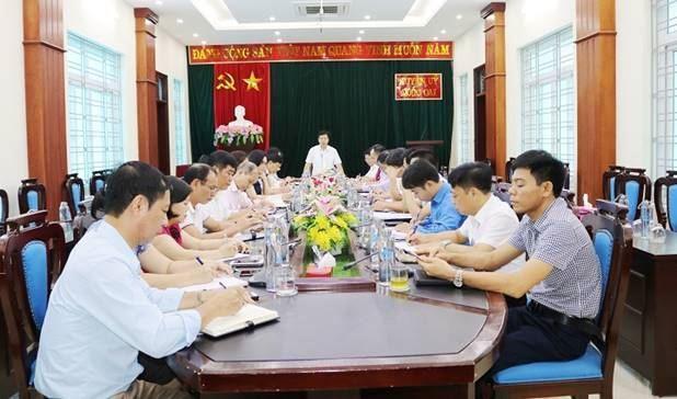 Huyện ủy Quốc Oai tổ chức hội nghị giao ban với MTTQ, các đoàn thể chính trị xã hội