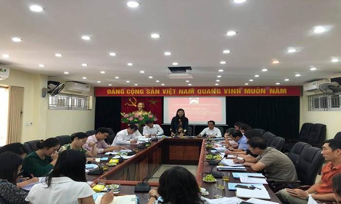 Kiểm tra việc tổ chức các hoạt động kỷ niệm 90 năm Ngày Truyền thống MTTQ Việt Nam tại quận Cầu Giấy