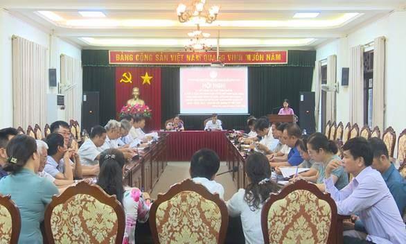 Ủy ban MTTQ Việt Nam huyện Đông Anh sơ kết công tác Mặt trận quý 3 và 5 năm thi hành Luật MTTQ Việt Nam