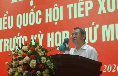 Đại biểu Quốc hội TP Hà Nội tiếp xúc cử tri huyện Mê Linh trước kỳ họp thứ 10, Quốc hội khóa XIV