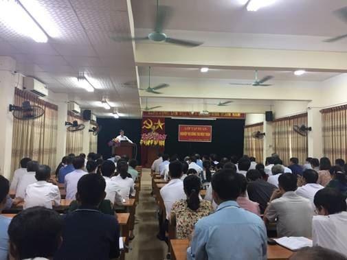 Thị xã Sơn Tây tập huấn công tác Mặt trận năm 2020