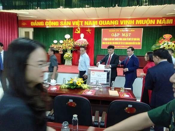 """Bắc Từ Liêm phát động ủng hộ quỹ """"Vì người nghèo"""" và đồng bào các tỉnh Miền Trung ảnh hưởng mưa lũ"""