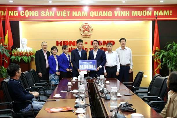 Ủy ban MTTQ Việt Nam quận Bắc Từ Liêm tiếp nhận hơn 255 triệu đồng ủng hộ đồng bào miền Trung