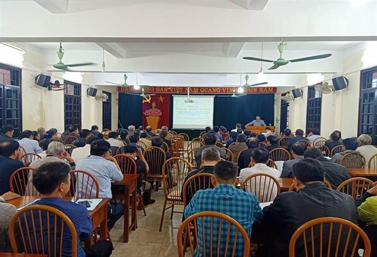 Ủy ban MTTQ Việt Nam huyện Đan Phượng tập huấn công tác Mặt trận năm 2020