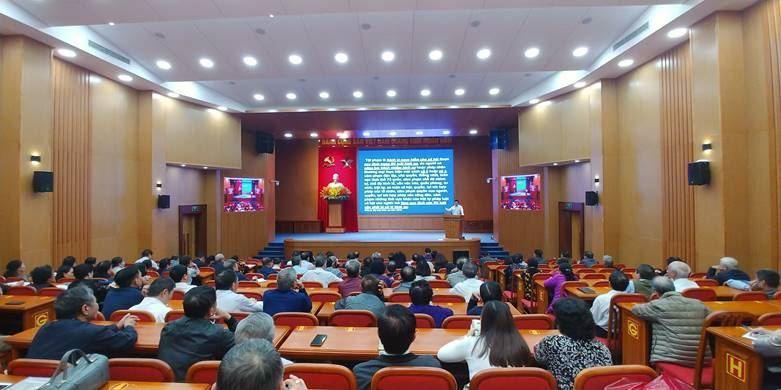 Ủy ban MTTQ Việt Nam quận Thanh Xuân tuyên truyền về công tác phòng chống tội phạm trên địa bàn năm 2020.