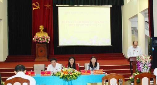 Đại biểu HĐND Thành phố  tiếp xúc với cử tri huyện Thanh Trì trước kỳ họp thứ 18 HĐND Thành phố khóa XV