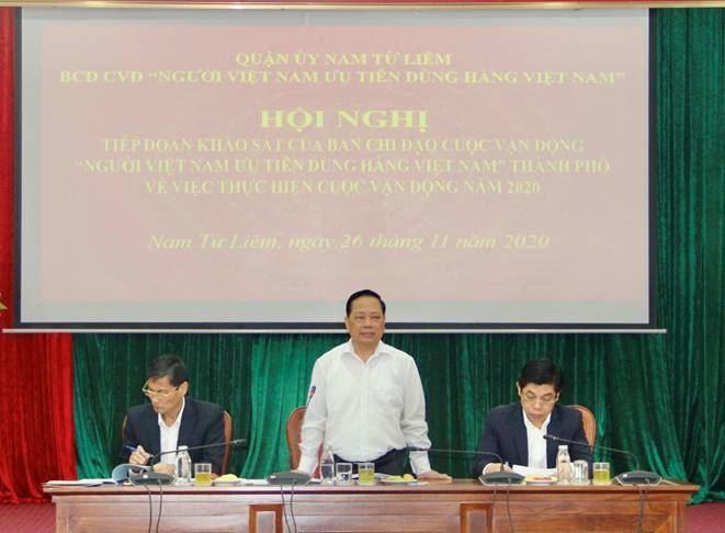 Tiếp tục đẩy mạnh công tác tuyên truyền Người Việt Nam ưu tiên dùng hàng Việt Nam
