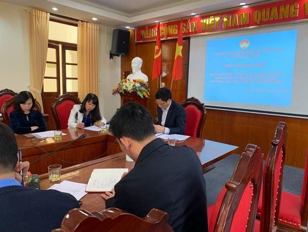 Ủy ban MTTQ Việt Nam huyện Mê Linh phản biện vào dự thảo Đề án phát triển văn hóa, văn nghệ - thể dục thể thao quần chúng huyện giai đoạn 2021 – 2025 và những năm tiếp theo.