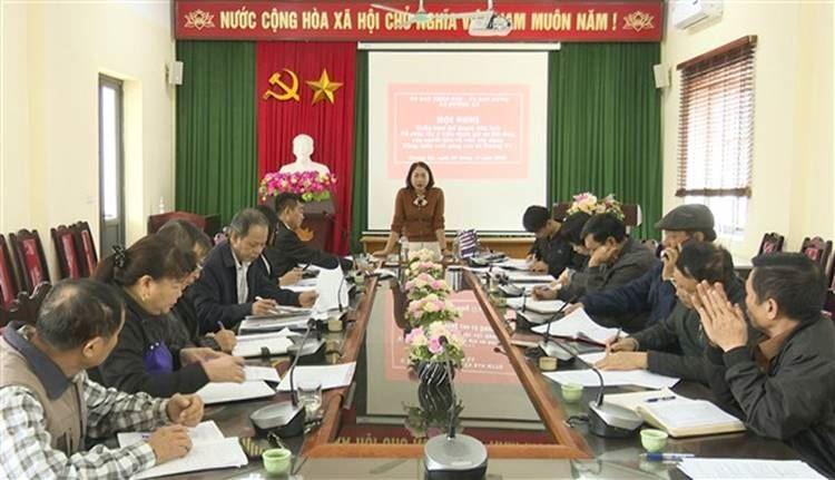 Huyện Gia Lâm triển khai kế hoạch liên tịch, tập huấn quy trình tổ chức lấy ý kiến đánh giá sự hài lòng của người dân về việc xây dựng Nông thôn mới nâng cao xã Dương Xá