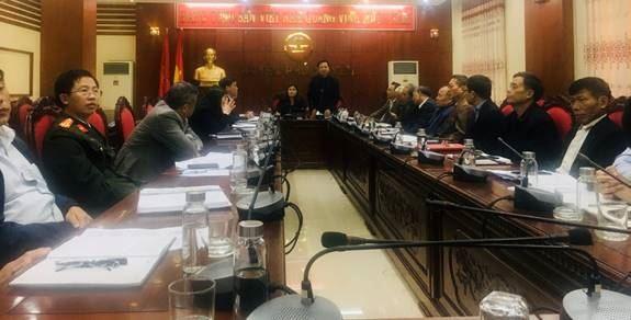 Huyện Phú Xuyên phản biện xã hội vào dự thảo báo cáo kết quả thực hiện nhiệm vụ phát triển kinh tế - xã hội, quốc phòng, an ninh năm 2020; phương hướng nhiệm vụ  năm 2021