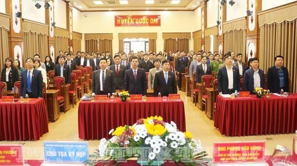 Ủy ban MTTQ Việt Nam huyện Quốc Oai tham gia xây dựng Đảng, xây dựng chính quyền và kiến nghị tại kỳ họp thứ 18 HĐND huyện
