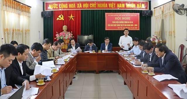 Sơn Tây tổ chức hội nghị phản biện xã hội vào các Chương trình công tác của Thị ủy