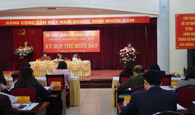 Uỷ ban MTTQ Việt Nam quận Cầu Giấy tham gia xây dựng chính quyền năm 2020