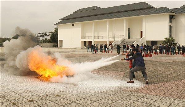 Gia Lâm tập huấn nghiệp vụ công tác phòng cháy chữa cháy và cứu nạn cứu hộ năm 2020