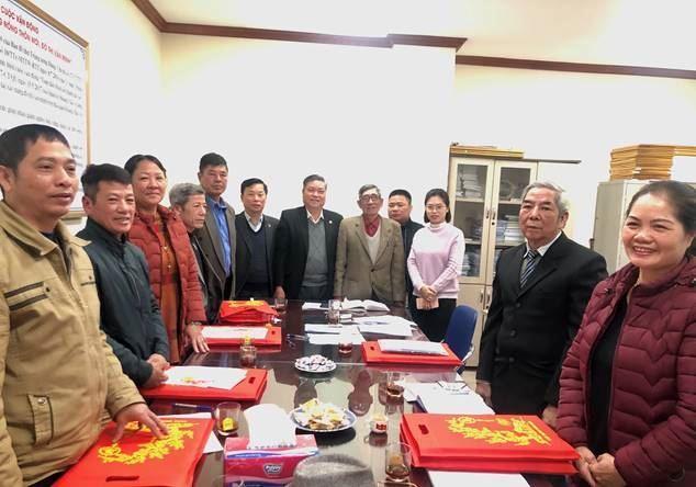 Quận Hoàng Mai gặp mặt, chúc mừng Ban đoàn kết Công giáo quận nhân dịp lễ Giáng sinh năm 2020