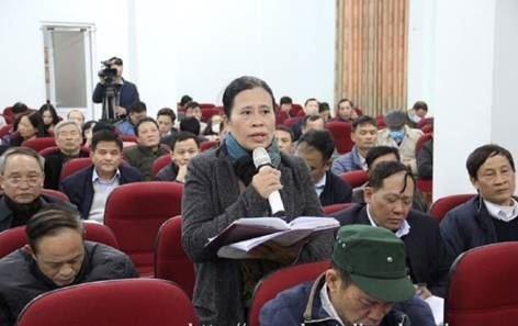 Đại biểu HĐND TP tiếp xúc cử tri quận Bắc Từ Liêm, sau kỳ họp thứ 18, HĐND thành phố khóa XV