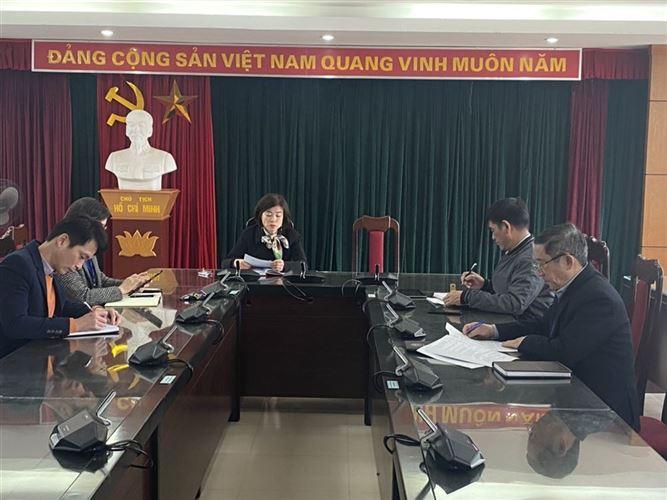Hội nghị thống nhất nội dung giám sát, phản biện xã hội, đóng góp ý kiến xây dựng Đảng, chính quyền năm 2021