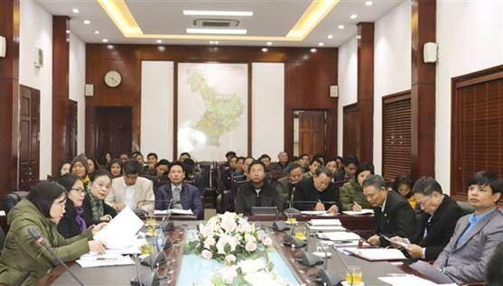 Ủy ban MTTQ Việt Nam huyện Gia Lâm tổ chức Hội nghị lần thứ 6, khóa XXI, nhiệm kỳ 2019- 2021 và phát động, ký giao ước thi đua năm 2021